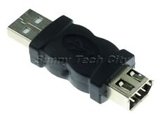 Quality Firewire IEEE 1394 6 Pin F to USB M F/M USB AM/1394 6F Adaptor Convertor