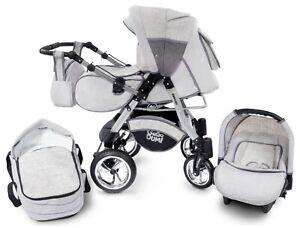 Urbano GagaDumi Baby Carrozzina 3in1 Passeggino trio OVETTO AUTO 20% SALE