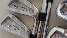 Callaway RAZR X-forged iron set 4-PW TT S300 Steel shafts   Priority US Ship!