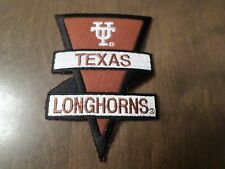 "NCAA Texas Longhorns Iron On Patch 5"" x 3 1/2"""