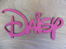 YOUR NAME Pink DISNEY Wooden Name - LARGE size 20cm tall plaque board baby sign