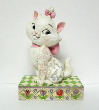 Aristocats Jolie Marie White Cat Figurine Jim Shore Disney Traditions Enesco