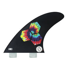 Shapers Fins - AM3 - Al Merrick (FCS) - Black - Small - Thruster - Surfboard