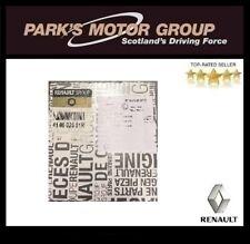 Genuine New Renault Brake Pads - 410602581R