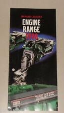 Prospect Volvo Penta Engine Range 1998