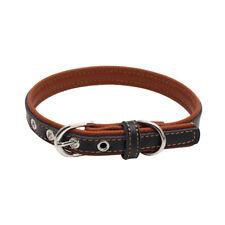 Moda Nuevo Collar Para Perro Mascota Doméstico Cuero Suave De Cachorro Animal