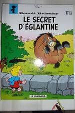 BD benoit brisefer n°11 le secret d'eglantine EO 1999 TBE peyo