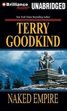 Sword of Truth: Naked Empire 8 by Terry Goodkind (2014, MP3 CD, Unabridged)