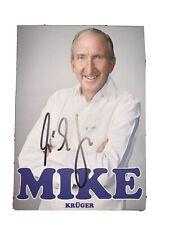 Mike Krüger original handsignierte Autogrammkarte / Comedy