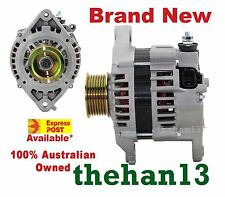 ALTERNATOR TO SUIT  NISSAN PATROL GU  ZD30DD 3.0L  TURBO DIESEL  2000 TO 2007