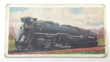 Canadian National Railway Engines 2-10-2 Imperial Tobacco Card 45 Train F050