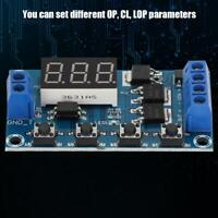 DC 12V LED Delay Timer Control Relay Switch Module Adjustable Time Timing ON OFF