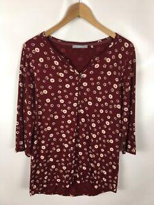 CECIL T-Shirt, Größe S, Baumwolle, geblümt