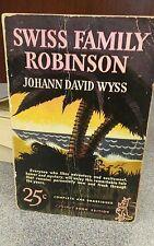 Swiss Family Robinson Pocket Book #22 1939, PB. First Edition