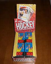 Three 1988-89 Topps Hockey Unopened Wax Packs
