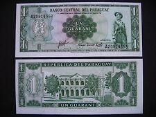 Paraguay 1 guaraní 1952 (p193b) UNC