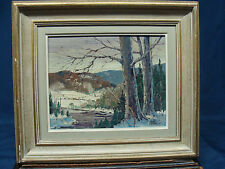 Canadian Jack Young Winter Scene Painting