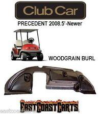 Club Car Precedent Golf Cart Dash Cover 2008.5'-Newer WOODGRAIN BURL