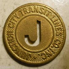Junction City Transit Lines Co. Inc. (Kansas) transit token - KS480B