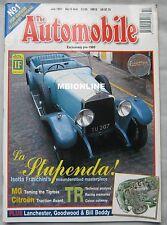 The Automobile magazine 07/1997 featuring MG, Triumph, Isotta Franschini
