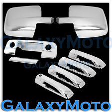 09-15 Dodge Ram Chrome Mirror no Light+4 Door Handle+Tailgate w. KH w. CM Cover