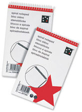SPIRAL NOTEPAD Headbound Ruled  200x125mm [Pack 10]