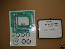 Gasket Kit Fits Hill-Rom 10 HP Med Vacuum  RC0250C