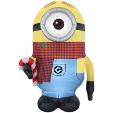 GIANT 9' MINION CHRISTMAS GEMMY AIRBLOWN INFLATABLE LIGHT UP YARD DECOR PROP new