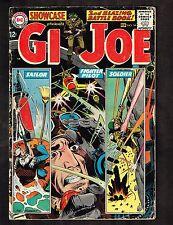 "Showcase #54 ~ Gijoe / ""The Battlefield Jury"" / Kubert Cvr ~ 1965 (4.0) Wh"