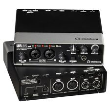 STEINBERG UR-22MKII USB 2x2 Computer Recording Interface UR22 MK2 REP