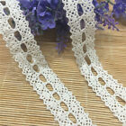 1/5/10 Yards Crochet Embroidered Lace Trim Edge Ribbon Wedding Sewing Craft