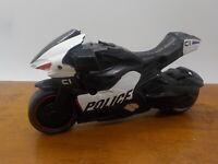 "Robocop Jada Toys Action Figures Police Motorcycle Black and Silver 4 3/4"""
