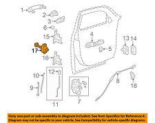 Chevrolet GM OEM 06-11 HHR Front Door-Hinge Check 25800726