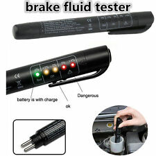 5 LED Brake Fluid Tester Car Vehicle Auto Automotive Diagnostic Testing Tool Jj3