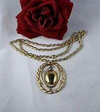 Gorgeous Monet Gold tone Classic  Necklace  CAT RESCUE