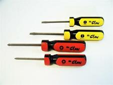 """USA Vermont American """"The Claw"""" - 4 Piece Screwdriver Set, Industrial - New"""