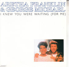 ARETHA FRANKLIN & GEORGE MICHAEL  I Knew You Were Waiting For Me PIC SLEEVE NEW
