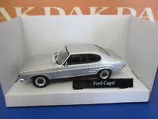 Die cast 1/43 Modellino Auto Ford Capri MKI Silver by Cararama