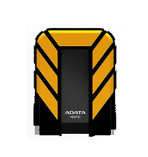 NEW ADATA 1TB DURABLE USB 3.0 PORTABLE HARD DRIVE STORAGE DEVICE YELLOW COMPACT