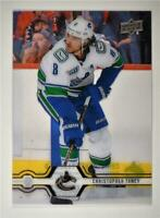2019-20 Series 2 Clear Cut #421 Christopher Tanev - Vancouver Canucks