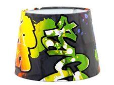 Graffiti Lamp Shade Lampshade Light Shade Boys Girls Bedroom Accessories Urban