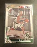 Tremont Waters RC 2019-20 NBA Hoops Premium Stock Chrome Rookie🔥🔥PACK FRESH