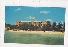 Fort Montagu Hotel Nassau Bahamas 1966 Postcard 783a