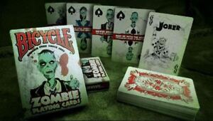 Bicycle Zombie Playing Cards Survival Guide & Tips US Playing Card Company