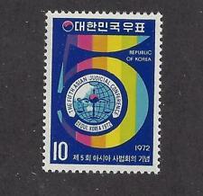 New ListingKorea - 837-839 - Mh - 1972 -Judicial Conf, Se Asia Lions Conf, 50Th Ann Scouts