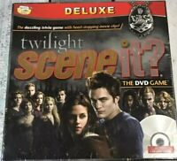 Scene it? Twilight The DVD Board Game Deluxe Gift TV Film Collectible New!