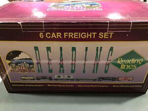 MTH RailKing Reading 6-car Freight Set 20-90001