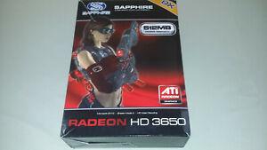 Sapphire ATI Radeon HD 3650, AGP 8x, Video Card, 512MB/128-Bit, DDR2