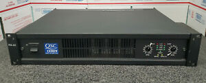 QSC CX302V Power Amplifier TESTED + CLEANED + WORKING   #G33