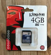 Kingston SD4/4GB 4 GB Secure Digital High Capacity Class 4 Card  BRAND NEW!!!